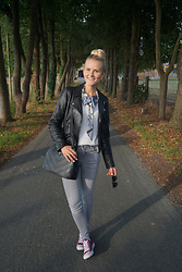 Kristina Dinges -  - Leather jacket