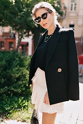 Farida - Acler Jacket, Acler Skirt, Chanel Bag - Favorite brand look