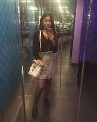 Mihaela Logoș - Mango Skirt, Sfera Blouse - Night out