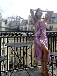 Tneale Williams - Dtw Slip Dress - Ultra violet.