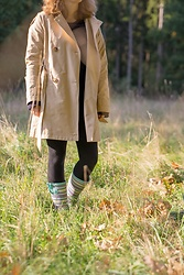 Hasche - Next Wellies, Zara Coat - Walk in the forest