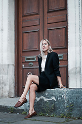 Daniella Robins - Russell & Bromley Loafers - Life's Lessons: The Trust Exercise
