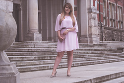 Feather P -  - Pink Dress