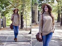 Ewa - Zaful Turtleneck Sweater - Golden Autumn