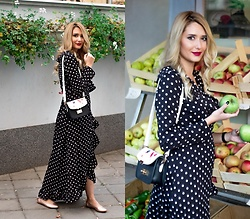 Sofija Surdilovic - Ultamodan Polka Dots Dress - Don't speak!