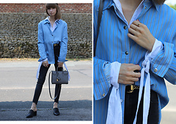 Manon B - Ba&Sh, Saint Laurent Bag - Layering shirts