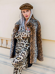 Milex X - Pretty Little Thing Hat, Nasty Gal Top, Nasty Gal Pants - LEOPARD PRINT