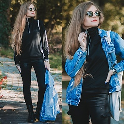 Karolina N. - Zaful Sweater, Zaful Jacket, Gemre Boots - AUTUMN DAYS.