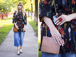 Julia F. - Pull & Bear Denim Culottes, Asos Shoes, Vipshop Blouse - Hello again!