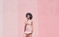 Amy Roiland - Get Choosey Outfit - 3 Shades of Pink
