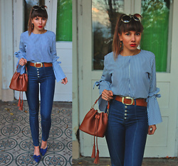 Jointy&Croissanty © - Bonprix Jeans - High waisted jeans