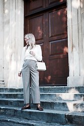 Daniella Robins - Warehouse Trousers - Style Focus On: Autumn Classics