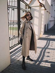 Kasia Szymków -  - The Trench Coat