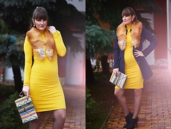 Andrea Kalocsai - Ownmade Dress - Yellow for my belly