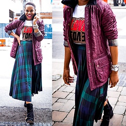 Monica Awe-Etuk -  - HOW TO MAKE YOUR QUILTED COAT ANYTHING BUT BASIC