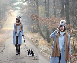 Daisyline . - Zara Coat, Zara Jumper - Magic forest / IG: daisylineblog