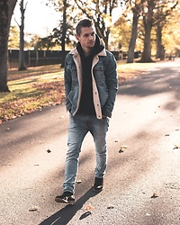 Dbrodovski - Topman Jacket, H&M Hoodie - Autumn getting cold🍂