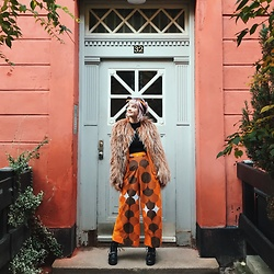 Alice Jones - Vintage Pants, Malene Biger Fake Fur, Asos Boots - Pants of dreams