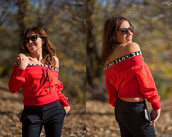 ManueLita - Shein Sweater, Flavio Castellani Pants, Messyweekend Sunglasses - Sporty & Glamour Girl