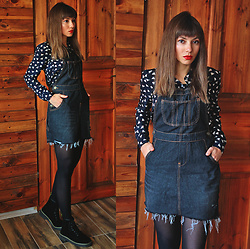 Jointy&Croissanty © - Evatrends Dress - How dungarees became a dress