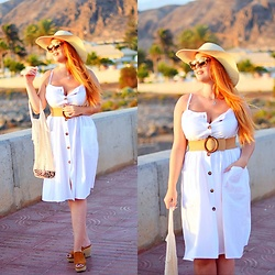 Nery Hdez - Novashe Dress, Gabidi Hats - PAMELA