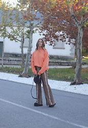 Claudia Villanueva - Bershka Sweatshirt, Lefties Pants, Zaful Bag - My Style, My Rules