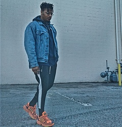 Jason - Adidas Yung One, Forever 21 Track Pants, Levi's Denim Jacket - Lighten Up
