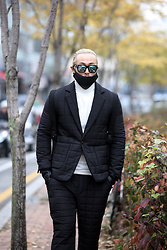 INWON LEE - Byther Quilted Suit Blazer, Byther Quilted Suit Trousers, Byther Quilted Winter Mask - Men's Winter Suit - Quilting