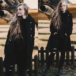 Karolina N. - Exlura Turtleneck, Zaful Coat, Zaful Pants, Gemre.Pl Boots - HELLO DECEMBER!