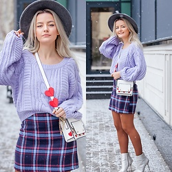 Cristina Tabun - Zaful Sweater, Zaful Skirt - Winter Candy