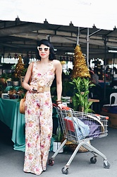 Cassey Cakes - Mango Jumpsuit, Mango Belt - Weekend Market