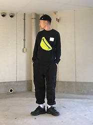 ★masaki★ - Obey Beanie, Komakino Sweater, Rothco 6pocket, Nike Air Monarch - Simple Fits