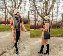 Halvmåner Blog - Rosegal Coat - Beige coat
