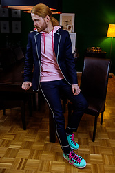 Maik - Tiger Of Sweden Suit, John Elliot Hoodie, Native Shoes - Suit and Hoodie