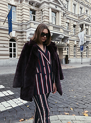 Sigita Mušauskaitė - Reserved Faux Fur, Reserved Suit - Stripe it up!