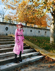 The wardrobe of Ms. B - Gucci Hat, Asos Coat, Gucci Belt - Paris, Paris ,Paris