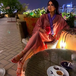 GlamDiva -  - #Middle #eastern #outlook #abaya #arabia