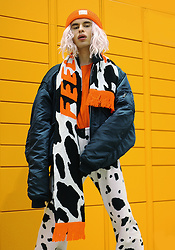 Milex X - Pony Scarf, Pony Hat, H&M T Shirt, Gal Groovy Pants - COW'S FEELINGS
