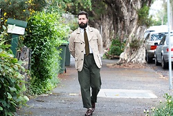 Jared Acquaro - Historic Military Jacket, Ralph Lauren Chinos, Herring Brogues - Tailored Military