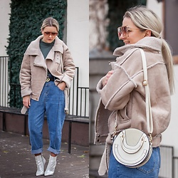 Cristina Tabun - Zaful Coat, Zaful Jeans - Winter look