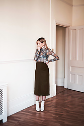 Daniella Robins - Acne Studios Top, Asos Skirt - On The Subject Of Forgivness & Florals