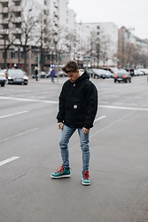 Kevin Elezaj - Native Boots, Dr. Denim Jeans, Carhartt Jacket - December 23