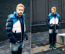 Maik - Diesel Jacket, Diesel Jeans, Diesel Sneaker - Quited jacket for cold winterdays