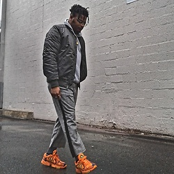 Jason - Adidas Yung 1, Forever 21 Cropped Pants, H&M Rings - Light Up ll
