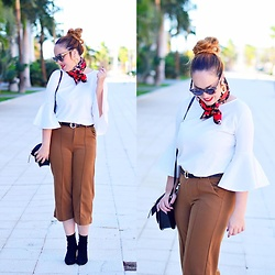 Nery Hdez - Zaful Earrings, Berrylook Pants - Leo & Red