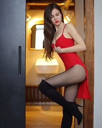 Ariadna M. -  - Lady in red