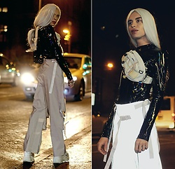 Milex X - Girlmerry Top, Girlmerry Pants, Cordura Bag - GLOWING PANTS