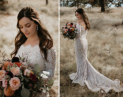 Kassy D - Elle Zeitoune Wedding Dress, Etero Earrings - Going to the Chapel of Love