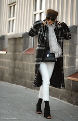 Isabel Alexander -  - Watch out for the plaid coats !