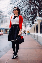 Lindsey Puls - Modcloth Hello Kitty Top, Modcloth Skirt - Another Hello Kitty Outfit